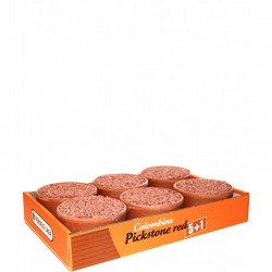 "Pickstone red ""tray 5 + 1"