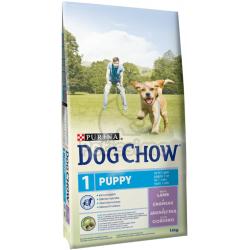 DOG CHOW PUPPY LAMB+rizs 14 kg